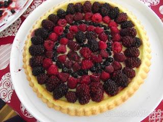 egyszerű gyümölcstorta recept
