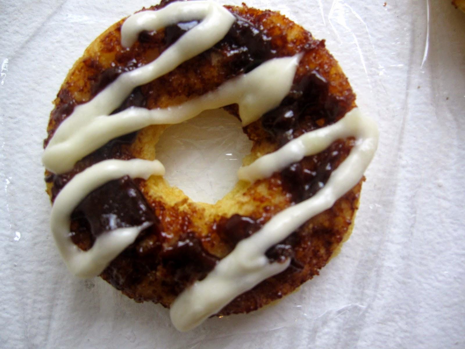 Cinnamon Roll Baked Doughnuts
