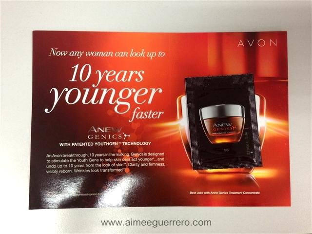 ANEW Genics Cream   Avon Glamourbox
