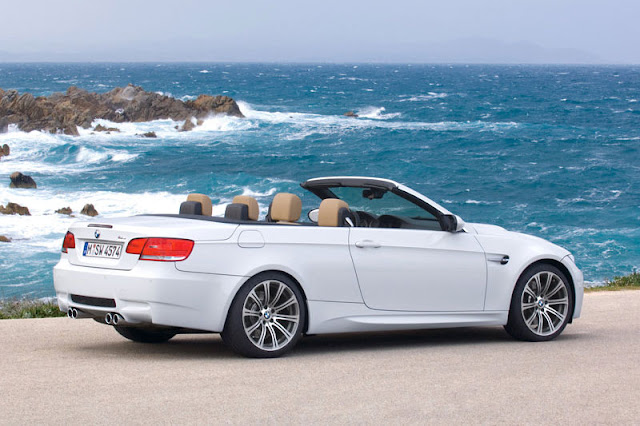 2009 BMW M3 Convertible Back Exterior