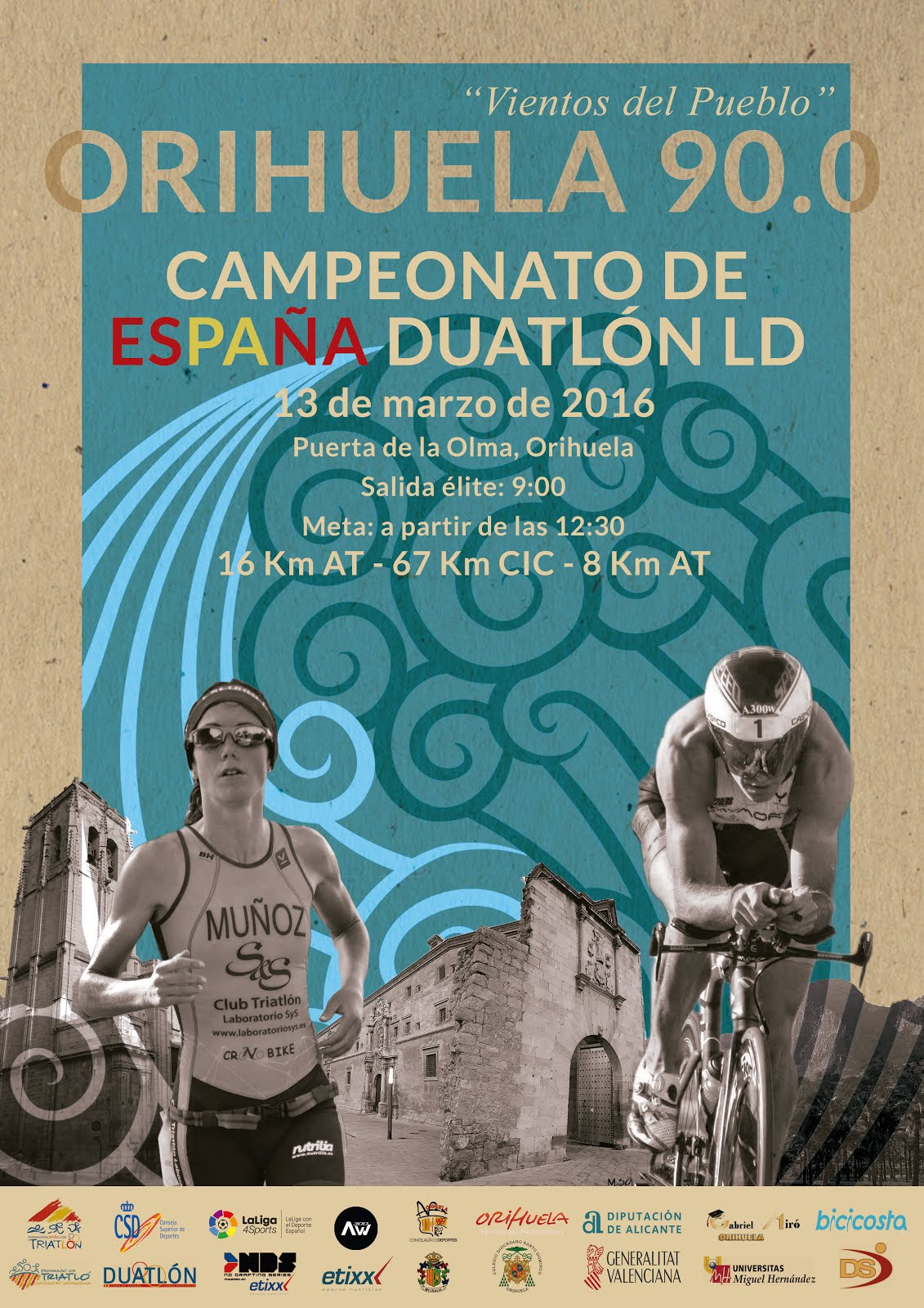 FINISHER CAMP. ESPAÑA DUATLÓN LD ORIHUELA 2016