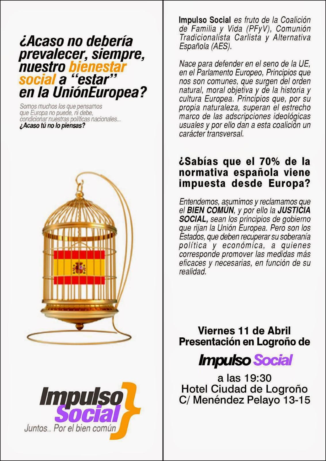 Octavilla presentación IS en Logroño