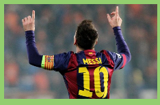 Messi es celestial