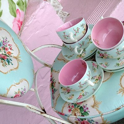 Stylish Shabby Chic cups and saucers. I have always found great beauty in old-fashioned china dinnerware to be precise. Tea cups and Coffee cups ...  sc 1 st  I Live Shabby Chic & I Live Shabby Chic: PRESERVING THE PAST