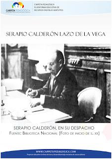 Serapio Calderón Lazo de la Vega