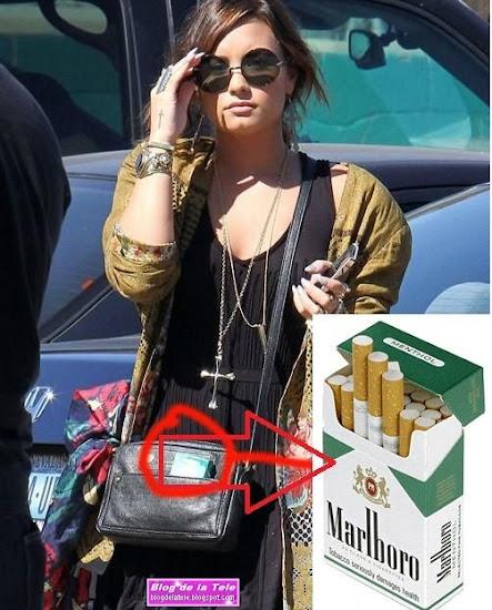 Filtran Foto de Demi Lovato fumando cigarrillos