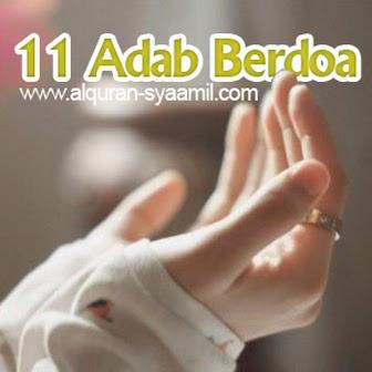 11 Adab Berdoa