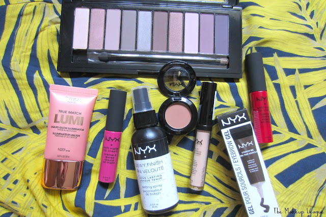 loreal la palette nude 2 rose true match lumi nyx soft matte lip cream prague monte carlo dewy setting spray hd concealer eyebrow gel