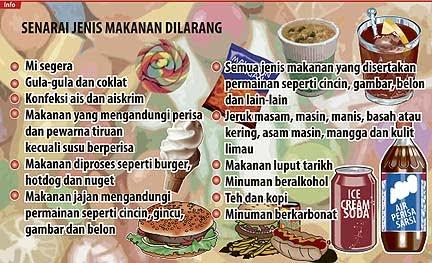 15 jenis makanan dilarang jual di kantin sekolah