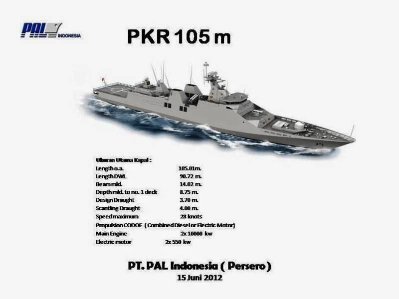PT PAL Lakukan Keel Laying Kapal PKR 105 Pesanan TNI AL