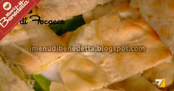 Bis di focacce la ricetta di benedetta parodi for Mozzarella in carrozza parodi