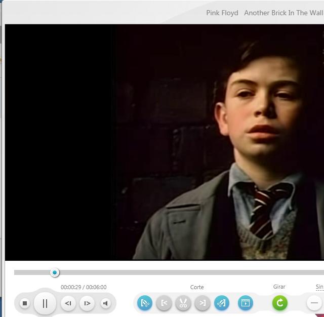 Un vídeo en Freemake Video Converter