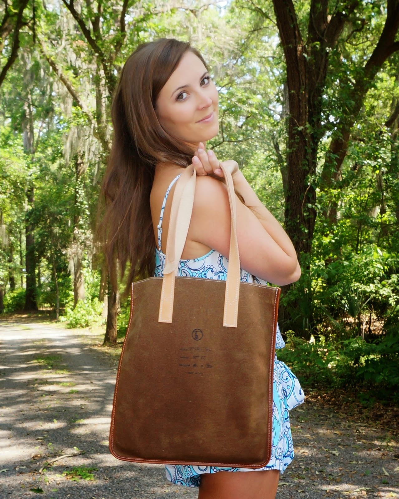 Flea bags Woodland milk tote