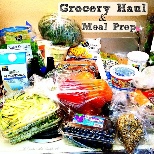 vegan grocery haul