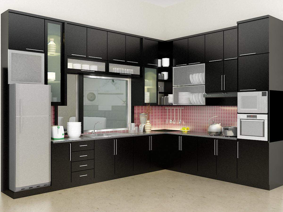 Kitchen cabinet models to fit your dream minimalist for Latest interior design for kitchen
