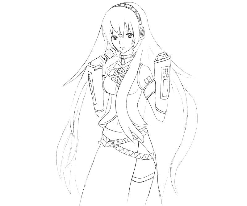 printable-hatsune-miku-project-megurine-luka-singing-coloring-pages