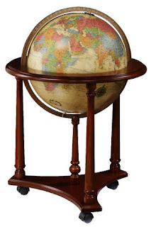 Vintage Floor Globe