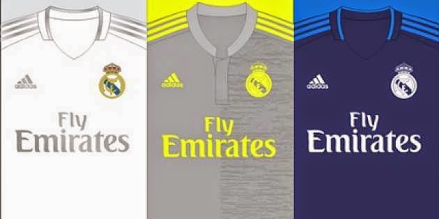 Bocoran Jersey Real Madrid Musim 2015-2016