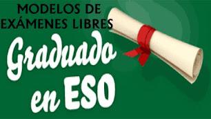 MODELO DE EXÁMENES LIBRES AÑOS 2012-2013-2014-2015