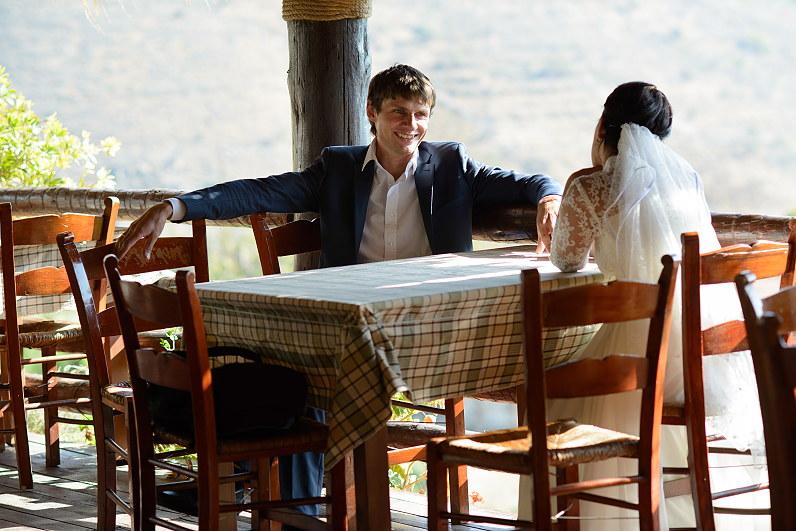 romantiškos vestuvės Graikijoje