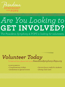 Pasadena Symphony and POPS Volunteers