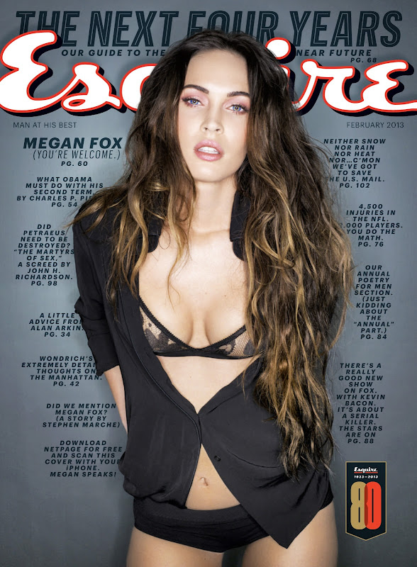 Hot Megan Fox on Cover of Esquire title=