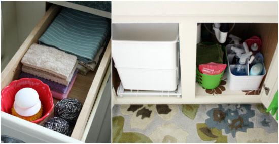 Iheart organizing everything under the kitchen sink workwithnaturefo