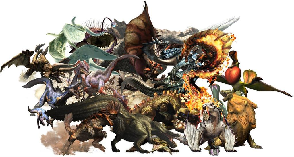 Monster Hunter HD & Widescreen Wallpaper 0.259156301990284