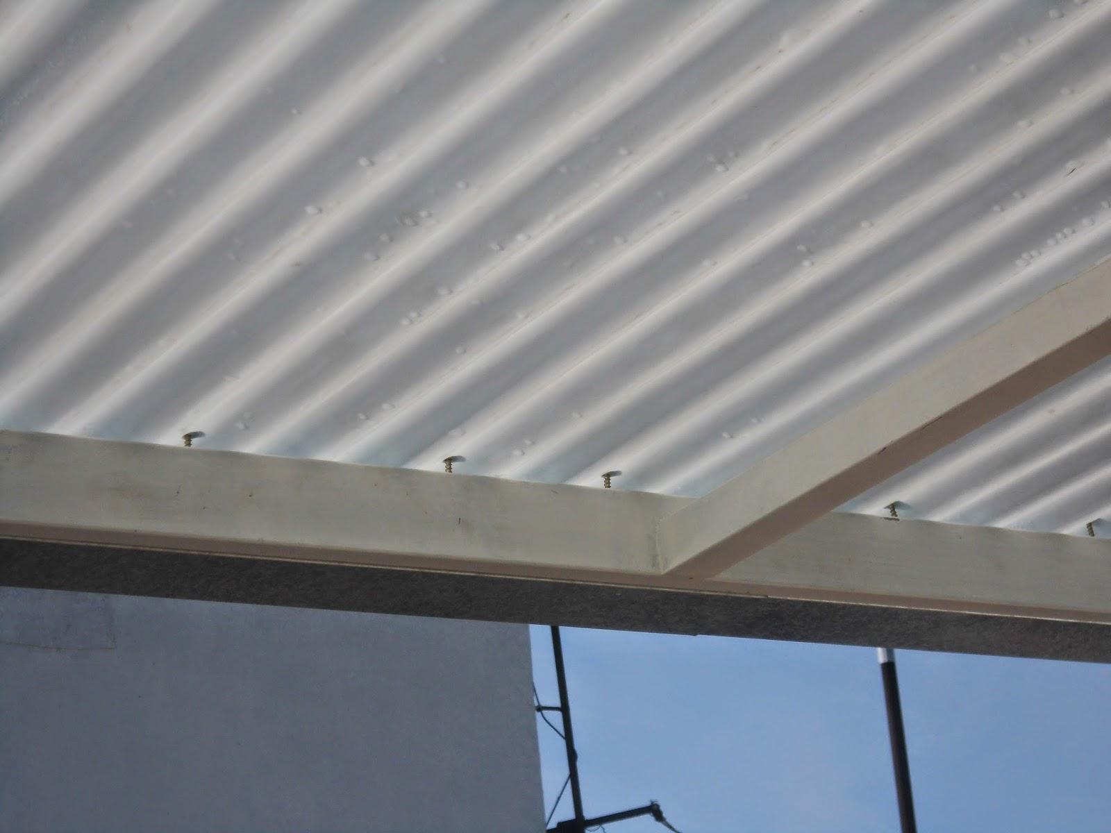 Entrepisos de madera escaleras techo chapa blanca con - Chapas de hierro ...