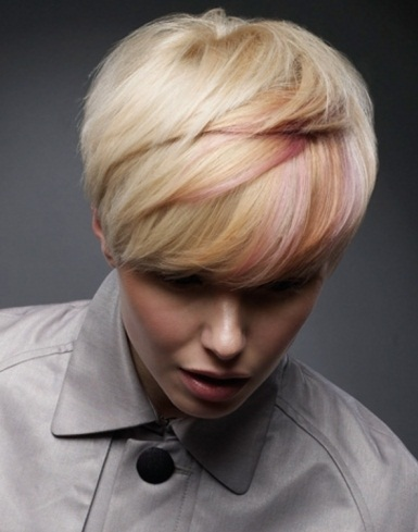 Lovely Pixie With Highlights 2014