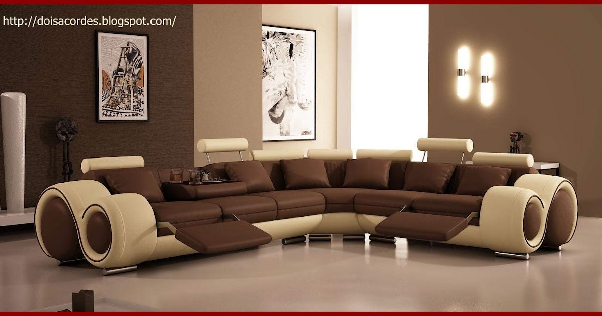 Understanding on What Color Walls Go With Brown Furniture in the ...