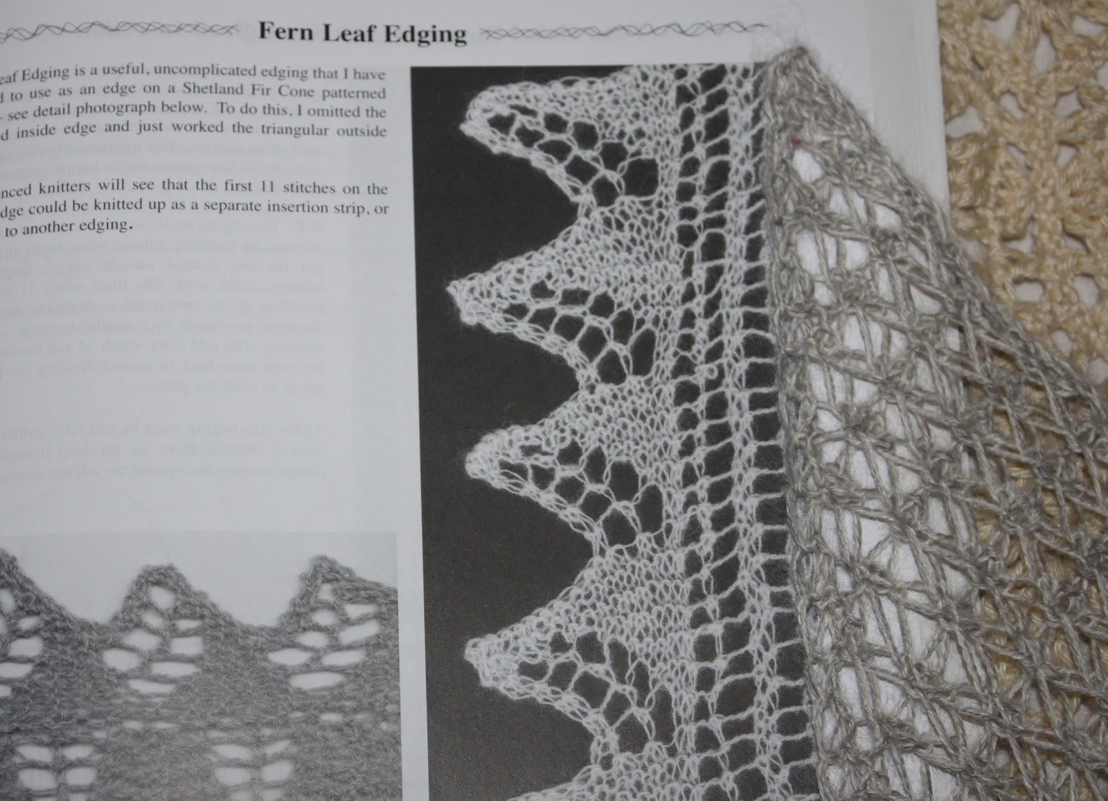 Amazing Knit Lace Edging Pattern Ensign - Blanket Knitting Pattern ...