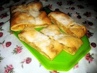 Ресторан дома - Рецепты - Штрудель с яблоками