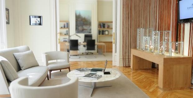 Visita al nuevo Lounge de Audemars Piguet en Madrid.