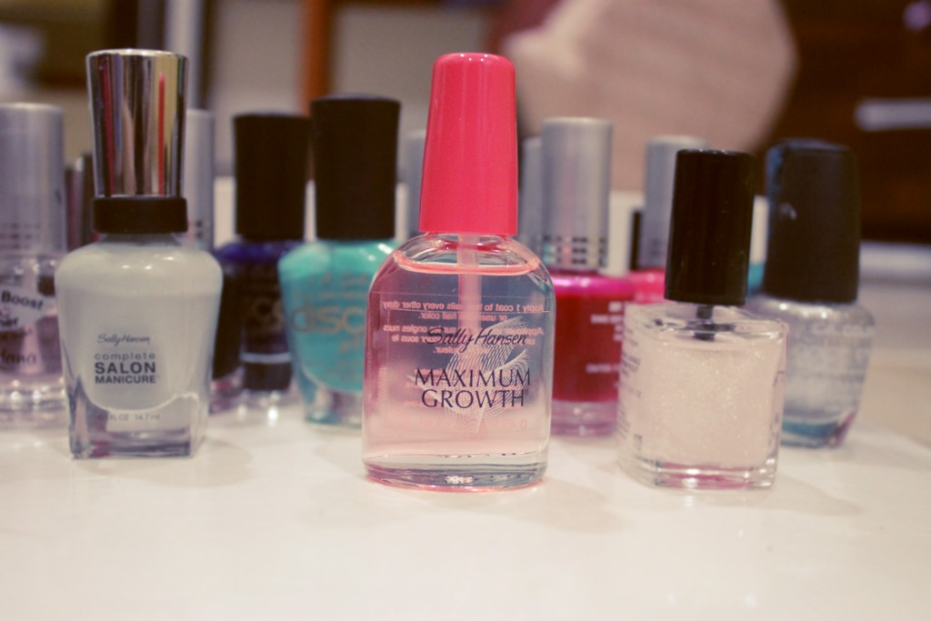 how to use sally hansen maximum growth
