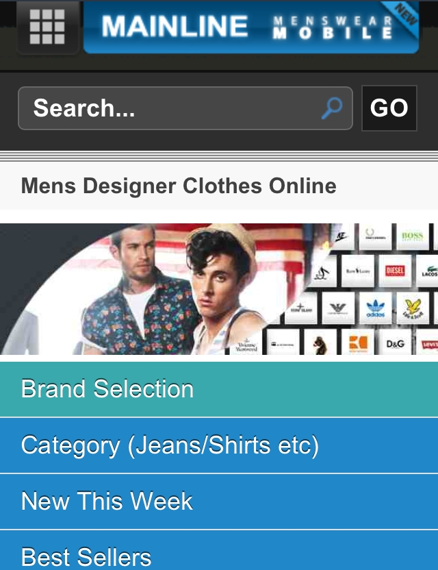 Mens Designer Clothes Online. Our outfit is our first impression, ...