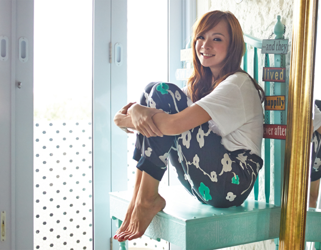 Jade Seah, energetic and chatty actress-host, 31