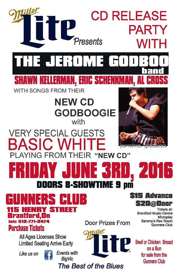 Jerome Godboo CD Release in Brantford