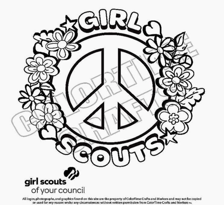 girl scout cookie coloring pages coloring pages gallery