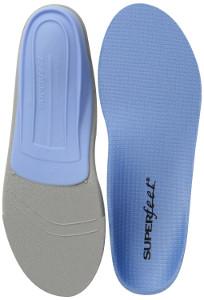 Plantar Fasciitis Superfeet Premium Blue Insoles