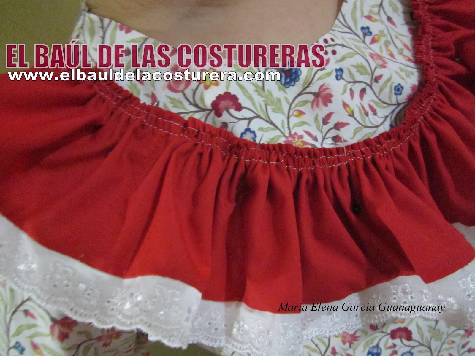 Madriguera del Lobo Solitario: Volados o faralado vestido típico