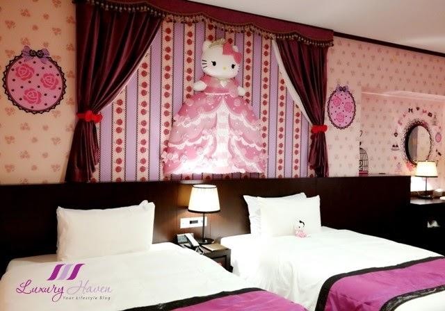 Cute japan character room hello kitty keio plaza hotel