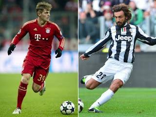 Bayern vs juventus vivo