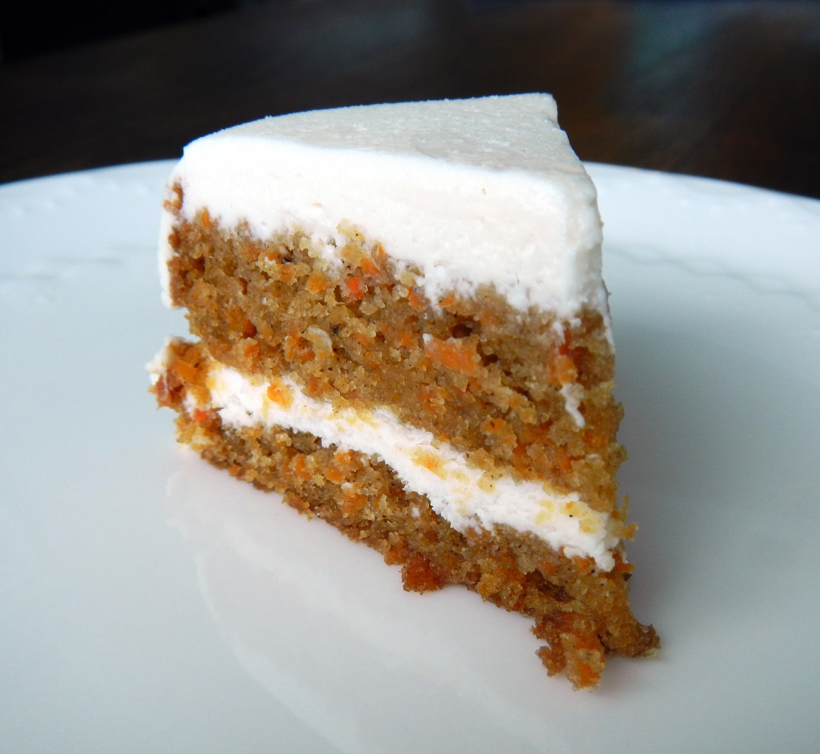 ... had an amazing carrot cake it was an unusual carrot cake because it