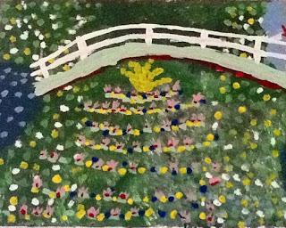 Monet Art Activity for Kids