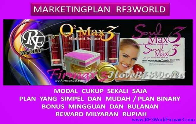 Marketing Plan Bisnis RF3World Firmax 3