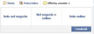 Offerte Facebook