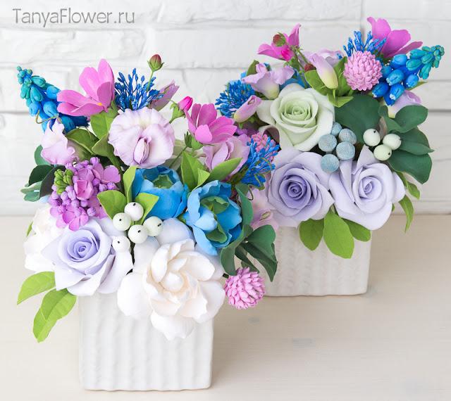 цветы ручной работы в подарок