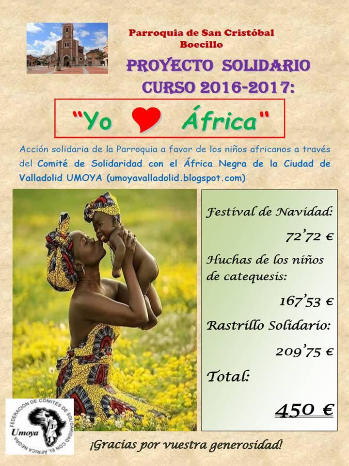 Balance Proyecto Solidario 2016-2017