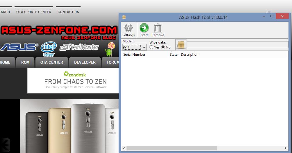 Zenfone C Custom Rom